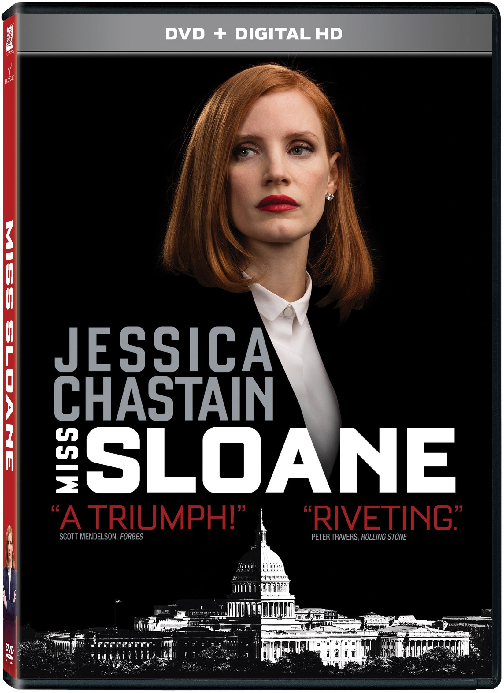 DVD : Miss Sloane (Digitally Mastered in HD, Widescreen, Dolby, AC-3, )