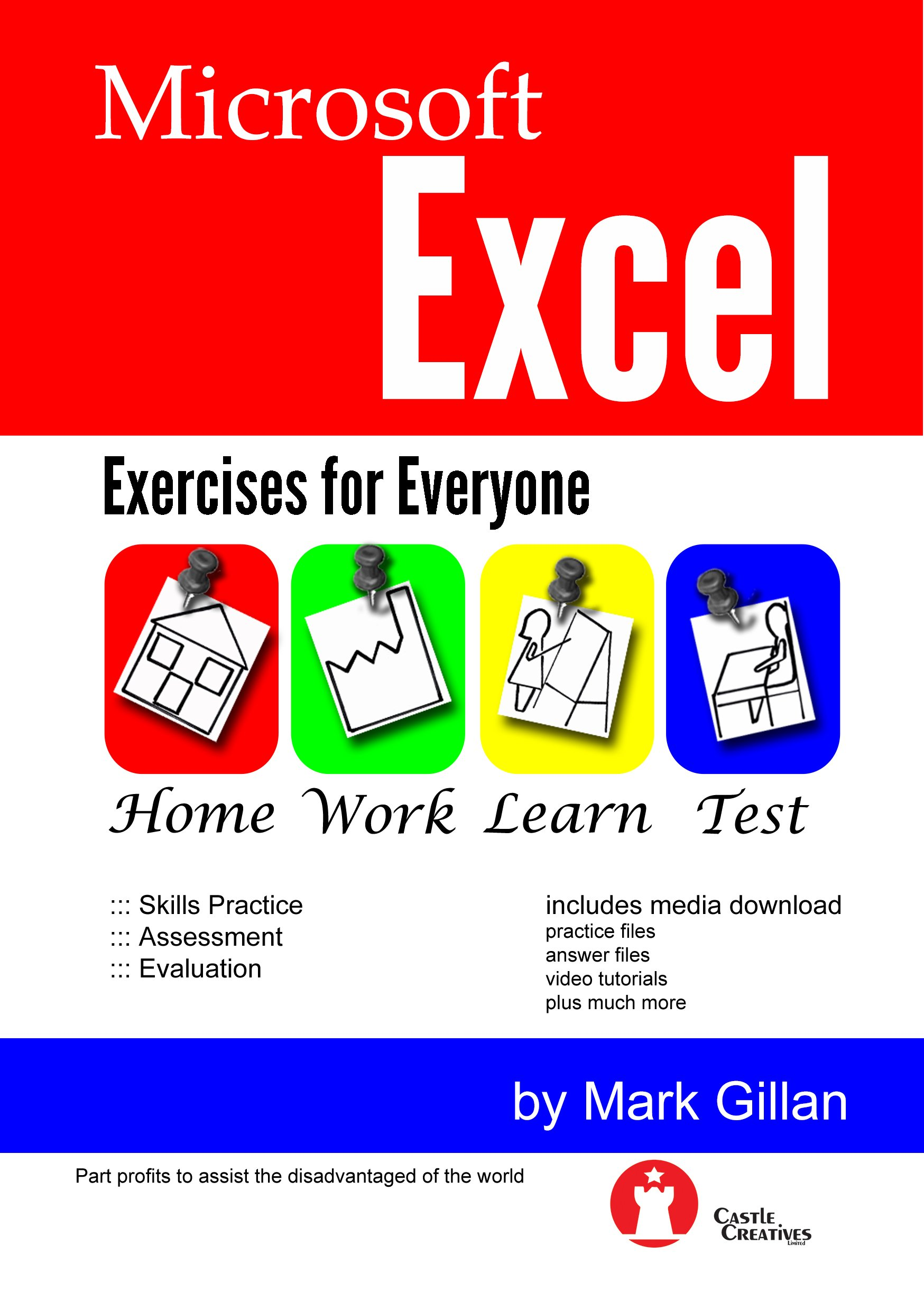 Microsoft Excel Exercises for Everyone (with Video Training): Amazon