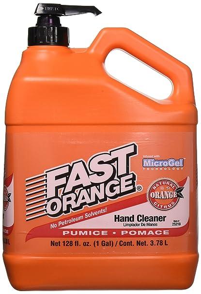 amazon com permatex 25218 fast orange hand cleaner with pumice 1