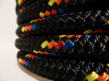 """5//8/"""" x 300 ft Double Braid-Yacht Braid Polyester Rope.Made in USA."""