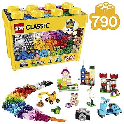 LEGO Classic Large Creative Brick Building Blocks for Kids (790 pcs) 10698