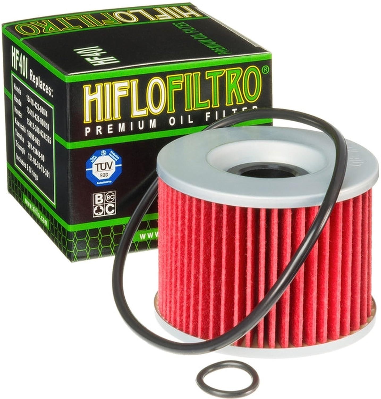 3x /Ölfilter Kawasaki EL 250 E Eliminator 91-95 Hiflo HF401