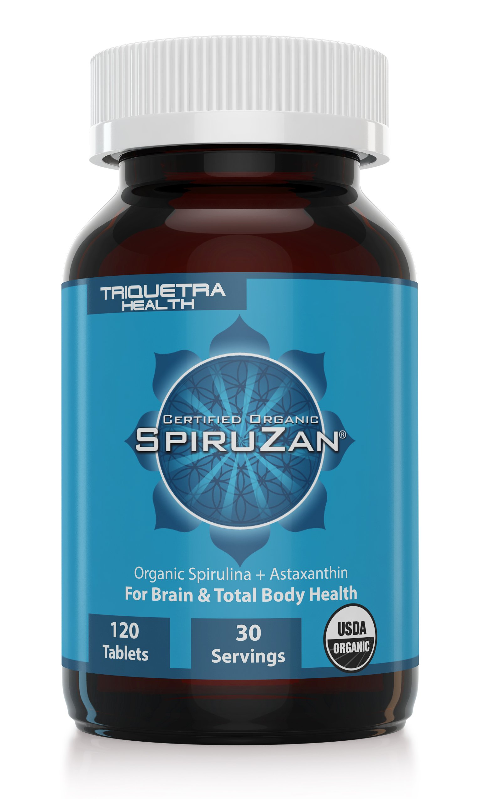Organic Spirulina and Astaxanthin: Organic Spiruzan -The Purest and Most Bioavailable Source of Spirulina and Astaxanthin - Our Spirulina is Certified Organic by the USDA, Ecocert, OCIA & Natruland