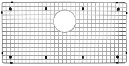 Bon Blanco 223192 Stainless Steel Sink Grid, Fits Precision And Precision 10  Super Single, Stainless
