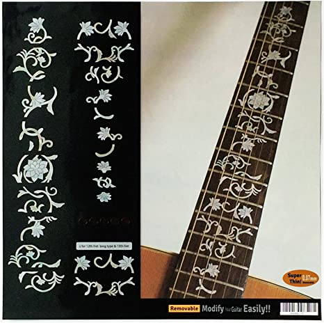 Calcomanías adhesivas para guitarra, diseño de marcadores de ...