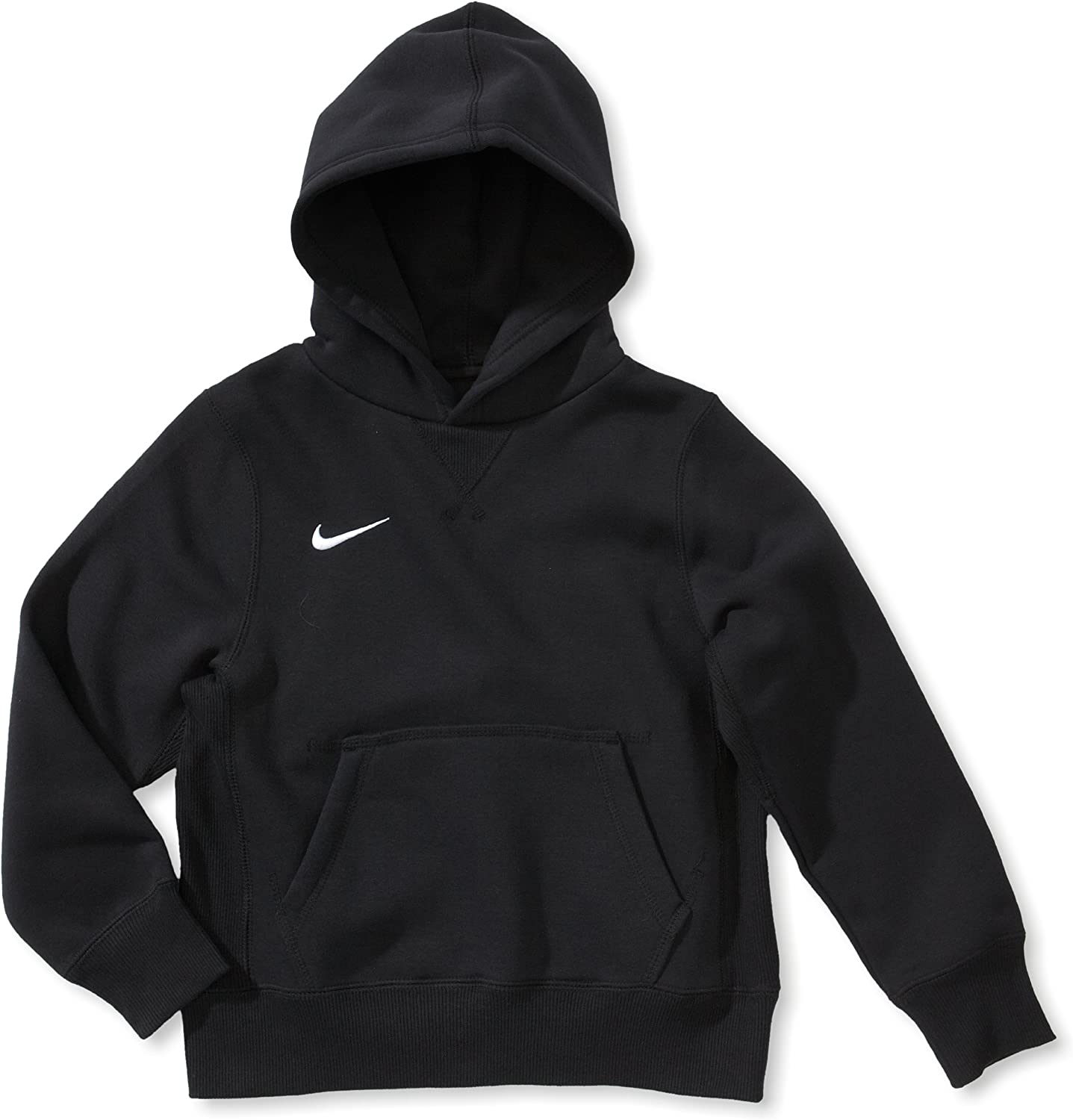 Nike 456001 Sweat Shirt à Capuche Mixte Enfant, Noir, FR
