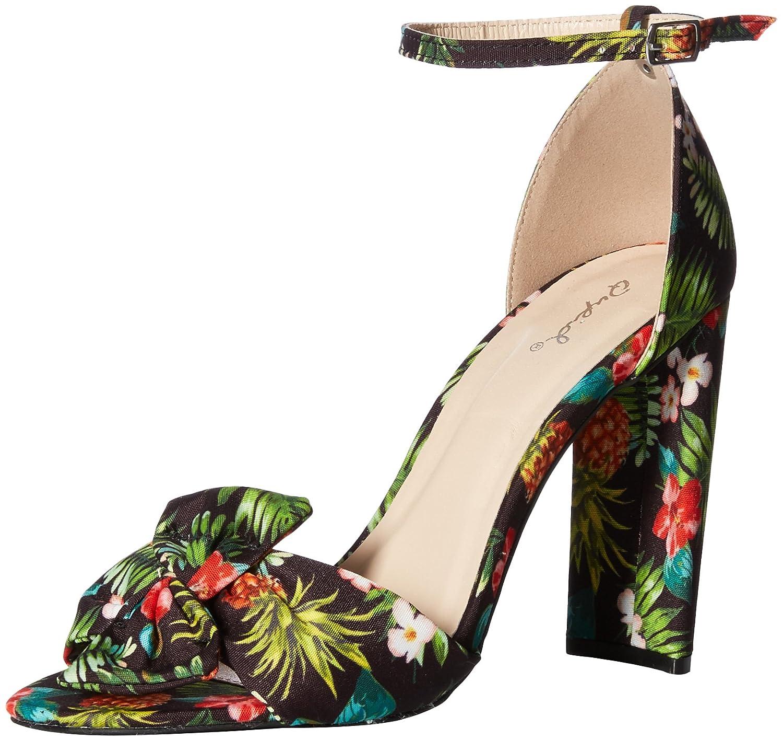 Qupid Womens Single Sold Sandal Heeled