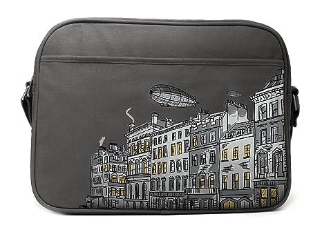 Cevan Metro bolsa de pañales, Londres, color gris