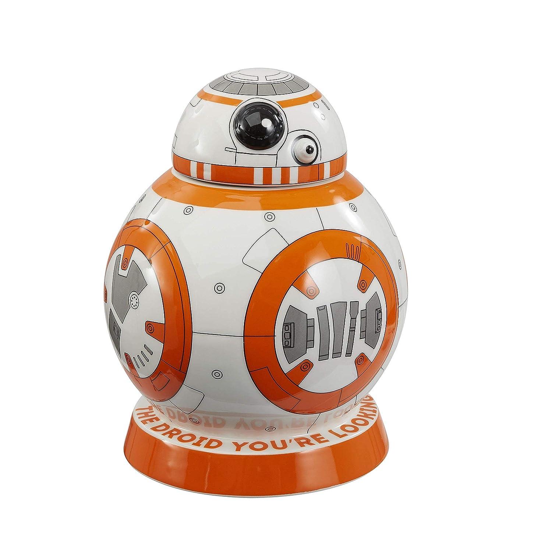 Star Wars epvii Bianco Barattolo per Biscotti BB-8