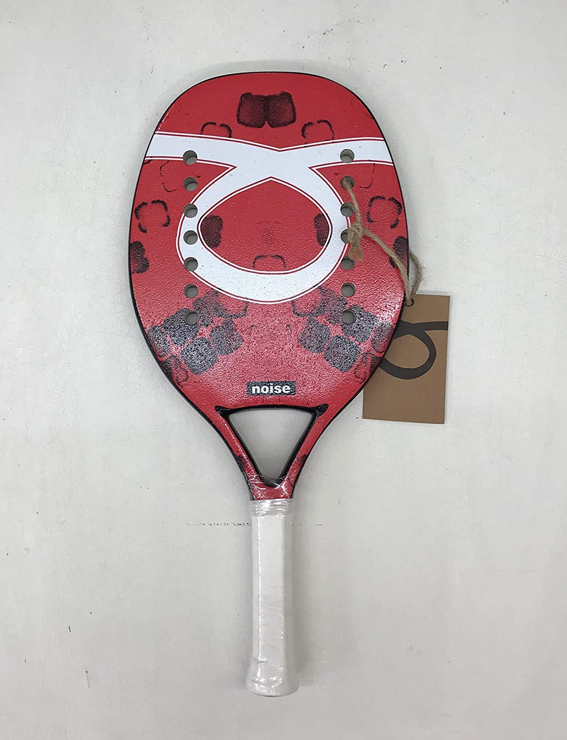TOM OUTRIDE Pala de Tenis Playa Noise Red 2019: Amazon.es ...