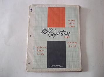 Amazon com : The Capstone Line, 2-183, Semi-Logarithmic, 3