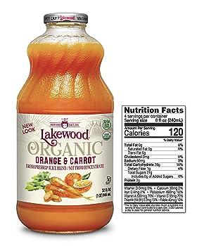 Lakewood Organic Orange Carrot Juice