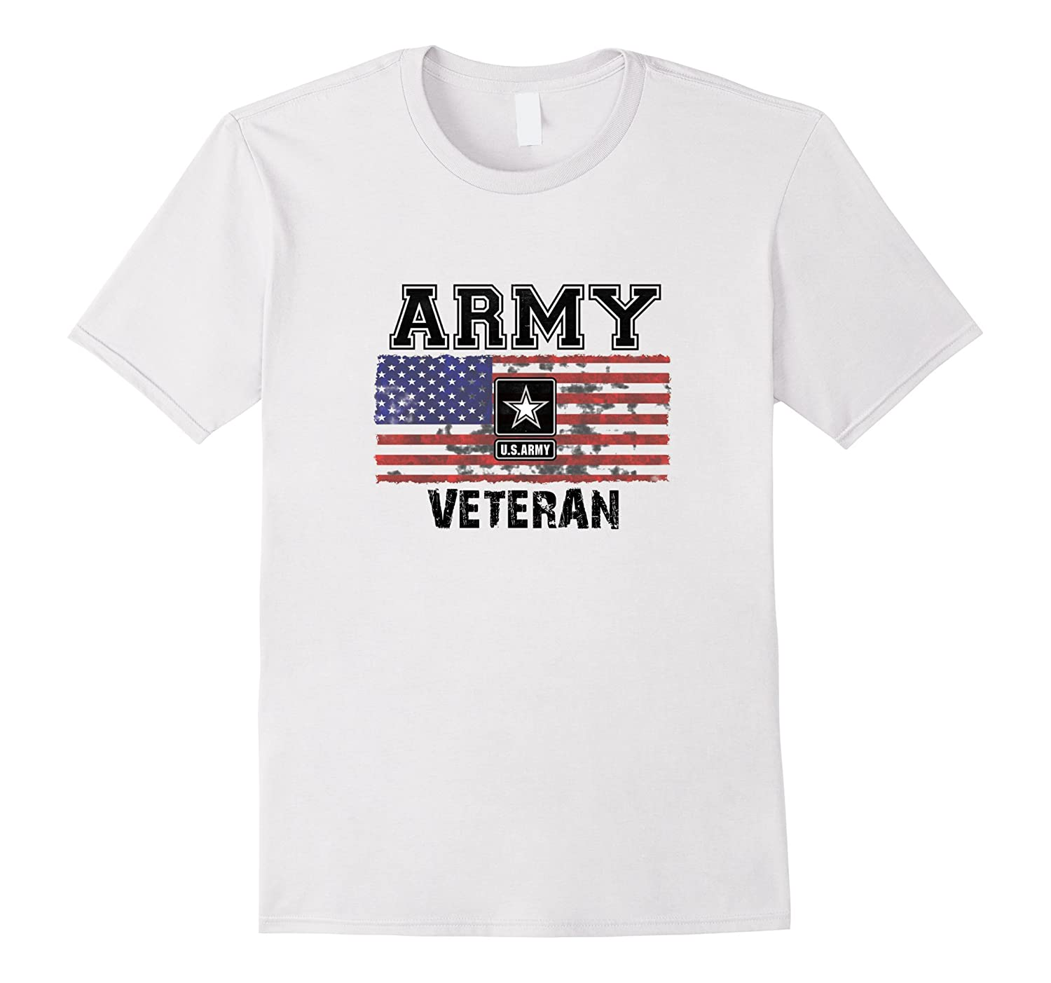 Veteran shirts us army veteran t shirt with us flag goatstee for Veteran t shirts patriotic t shirts