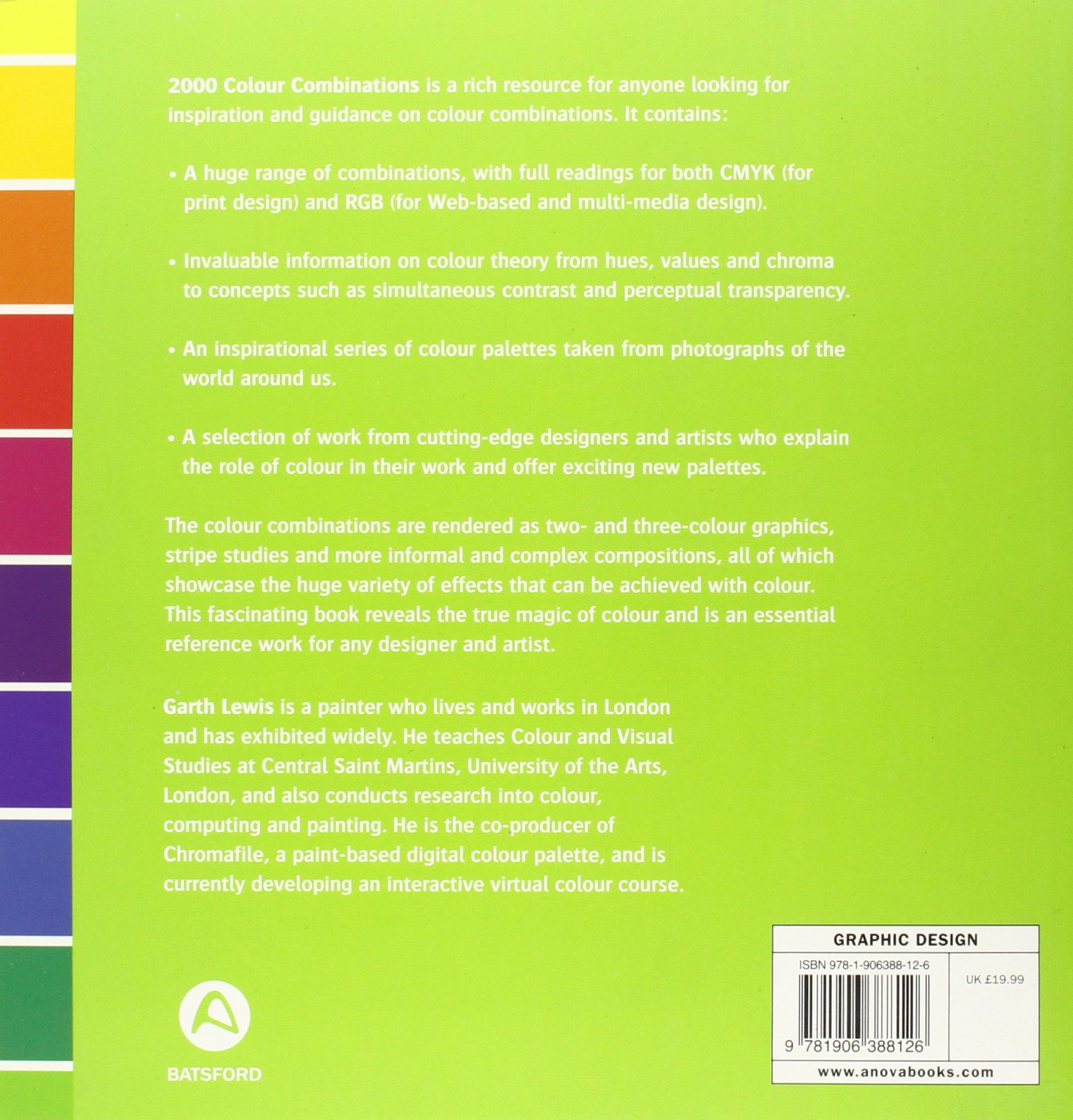 2000 Colour Combinations: For Graphic, Textile, and Craft Designers ...