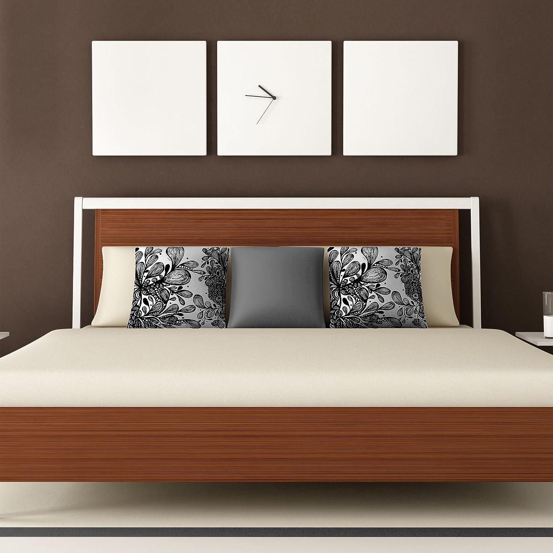26 x 26 Deny Designs Julia Da Rocha Bed Of Pink Roses Throw Pillow