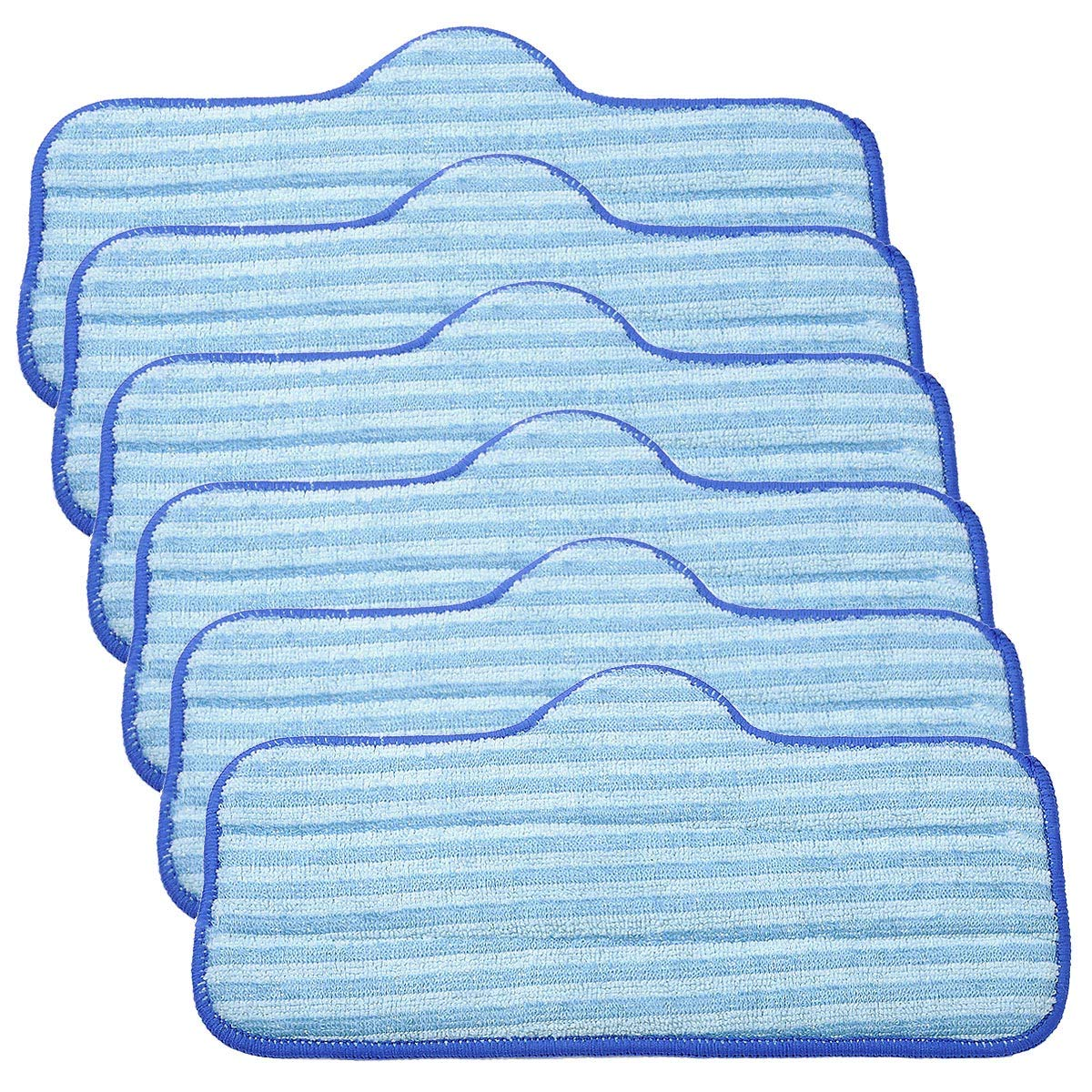 KEEPOW Microfiber Pads for Dupray Neat Steam Cleaner, 6 Pack Washable Pads