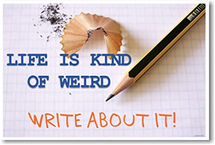 Life Is Kind Of Weird   NEW Classroom Motivational Poster