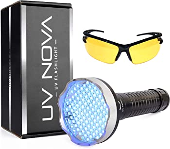 UV Nova Blacklight Flashlight