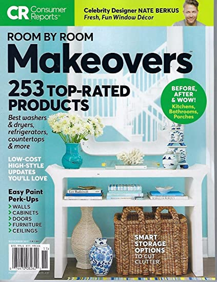 Consumer Reports November 2017 Room By Room Makeover