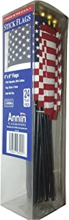 product image for Annin American USA Stick Flags Value Bundle Pack, 4 by 6-Inch, 24-pack
