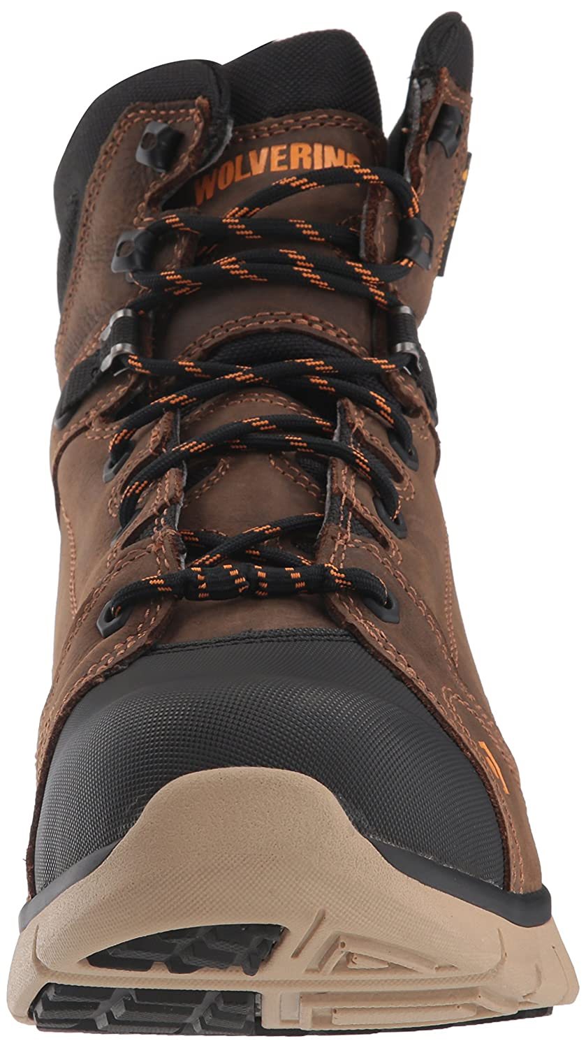 1834eae85c8 Wolverine Men's Rigger WPF Composite-Toe Mid Wedge Construction Boot