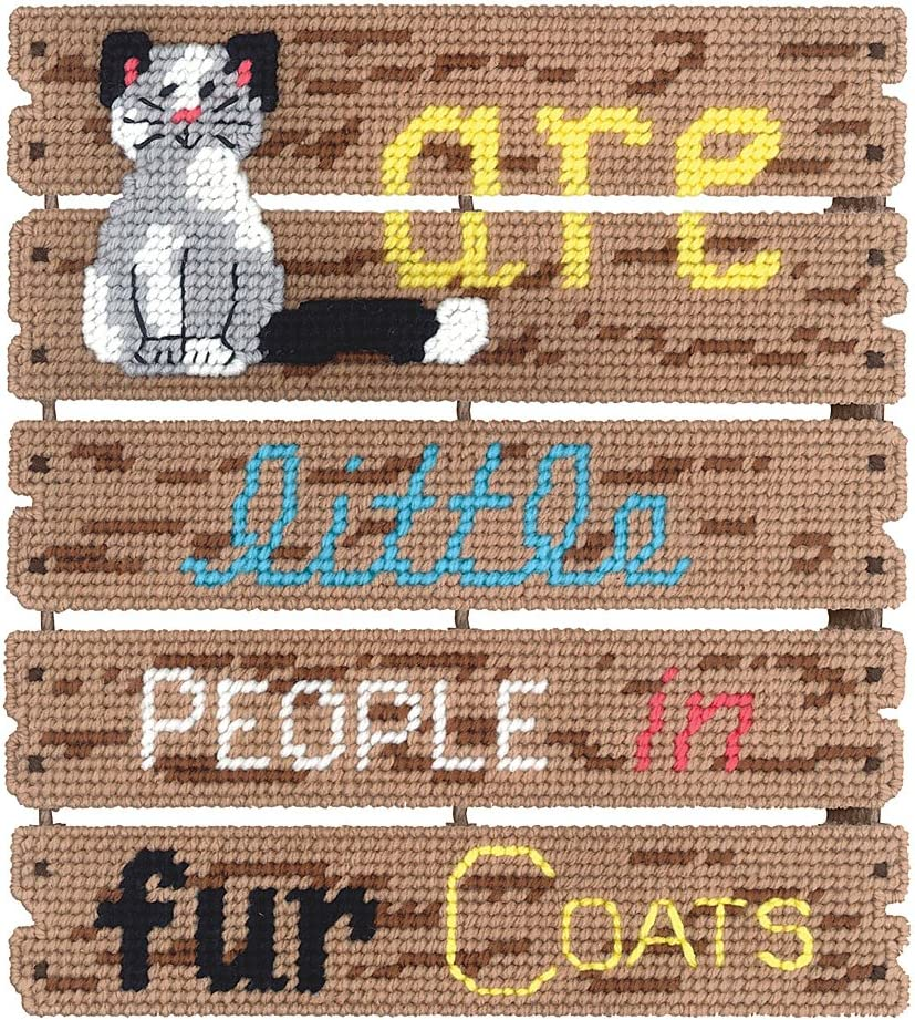 Janlynn Cats Are Pallet-ables Plastic Canvas Kit