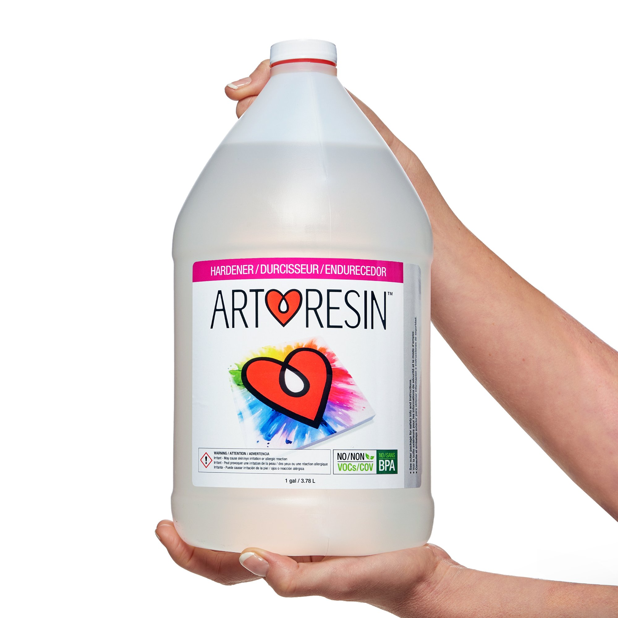 ArtResin - Epoxy Resin - Clear - Non-Toxic - 4 gal (15.14L)