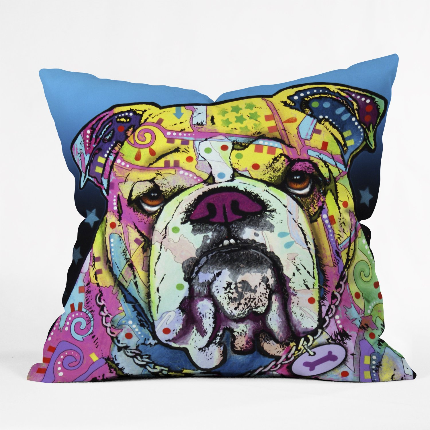 Amazon Deny Designs Dean Russo Cherish The Pitbull Throw