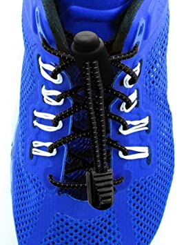 Cordones Para Zapatos de Deporte- Encaje Cerraduras - 2 clips adicionales para que los utilices - Triatlón - Marathon Sport Calendario (Bandera italiana) mQWWIzG