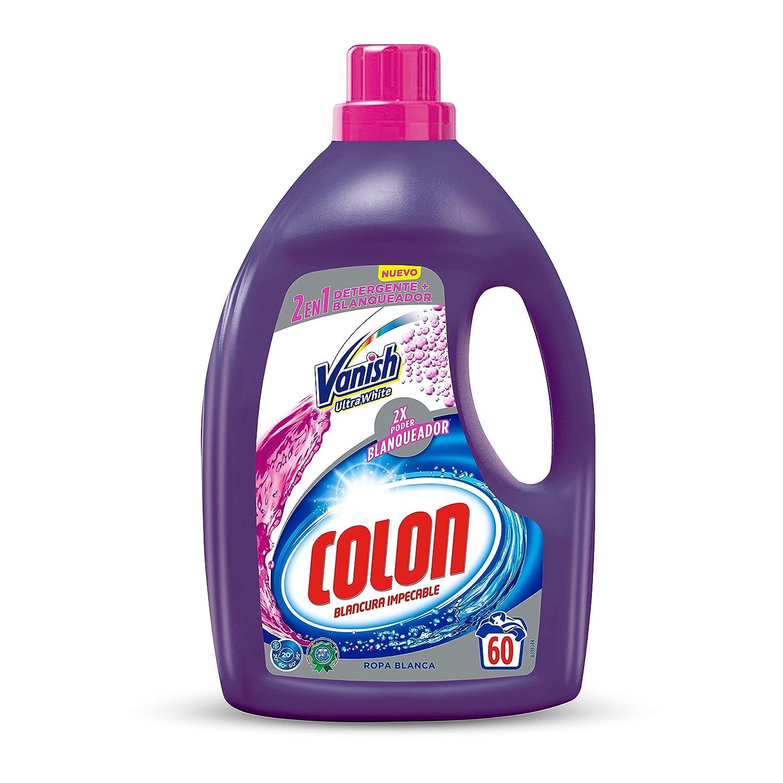 Colon Detergente Ropa Líquido Vanish para ropa blanca - 60 dosis ...