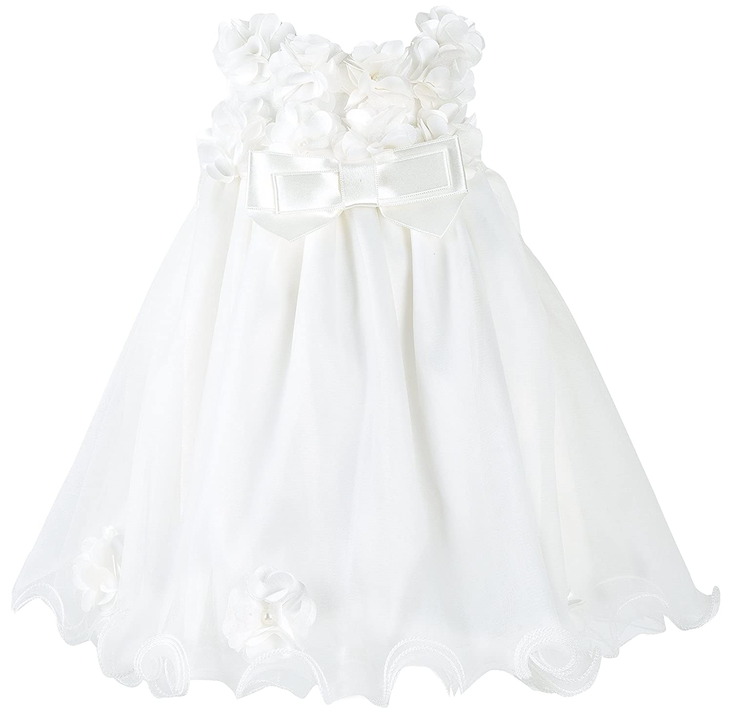 Amazon.com: Taffy Baby Christening Baptism 3D Flower Dress Gown 6 ...