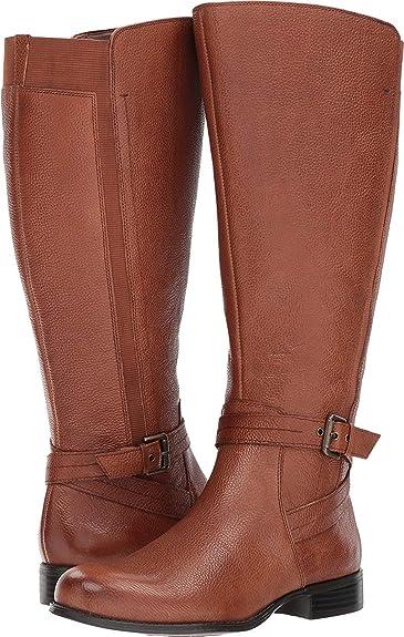 1f14298fdd45fe Amazon.com | Naturalizer Women's Jenelle Wc Riding Boot | Mid-Calf