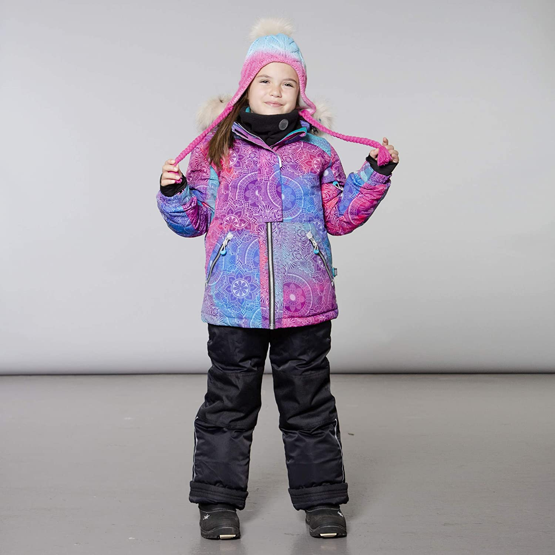 Deux par Deux Two-Piece Snowsuit Girl Toddler Kids Winter 2 Years to 14 Years
