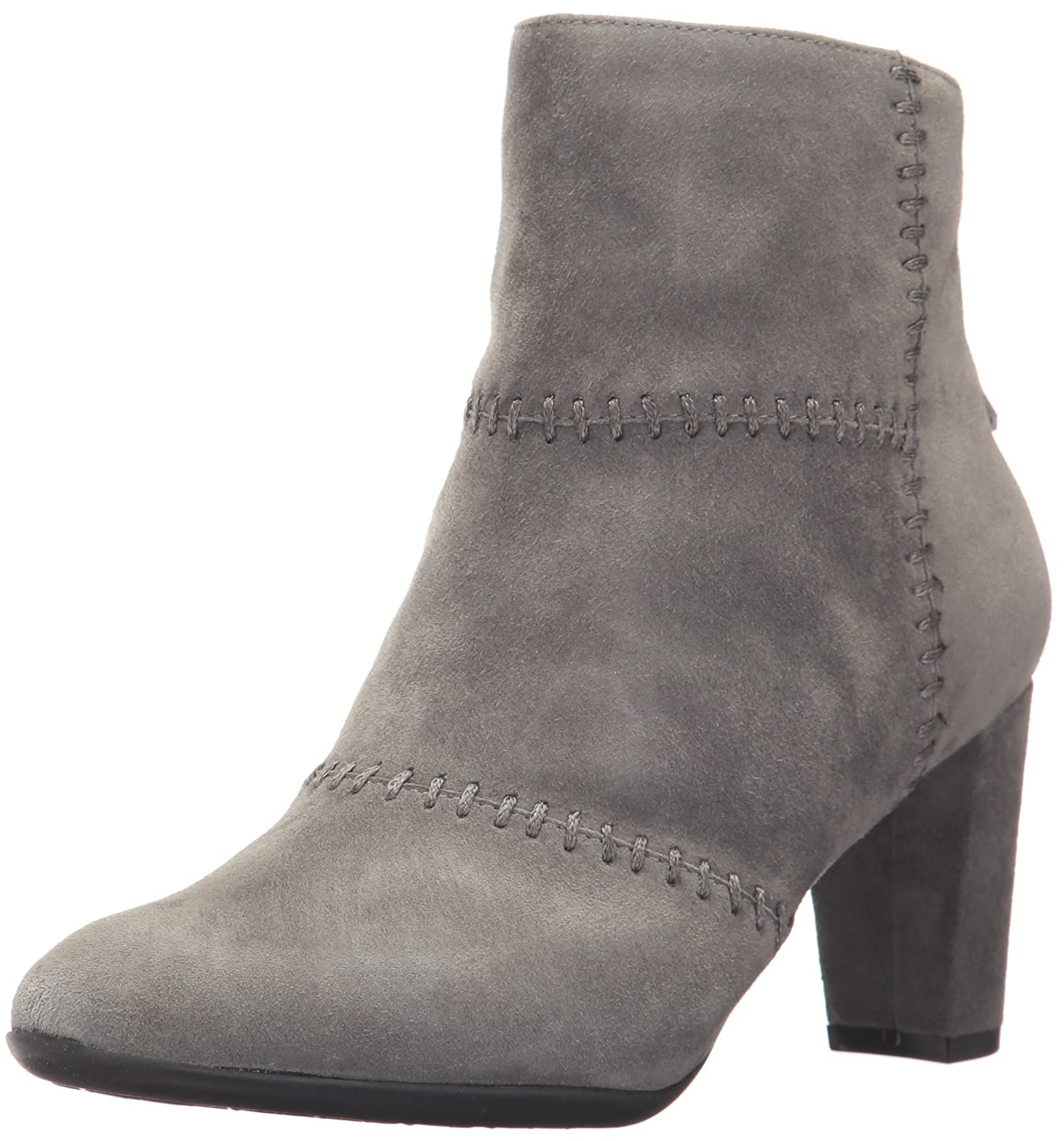 Aerosoles Women's First Ave Ankle Boot B06Y61DTGX 9 B(M) US|Dark Gray Suede