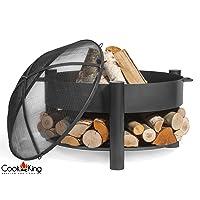 Montana Feuerschale CookKing schwarz XXL ✔ rund ✔ tragbar