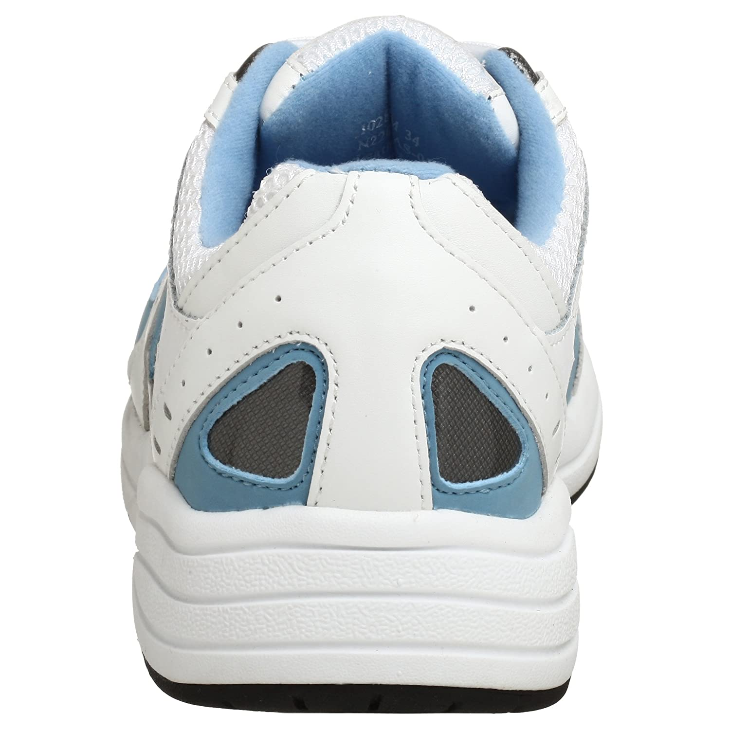 Drew Shoe Women's 11 Flare Walking Shoe B001ATTOKC 11 Women's 4E US|White/Blue cd9cfd
