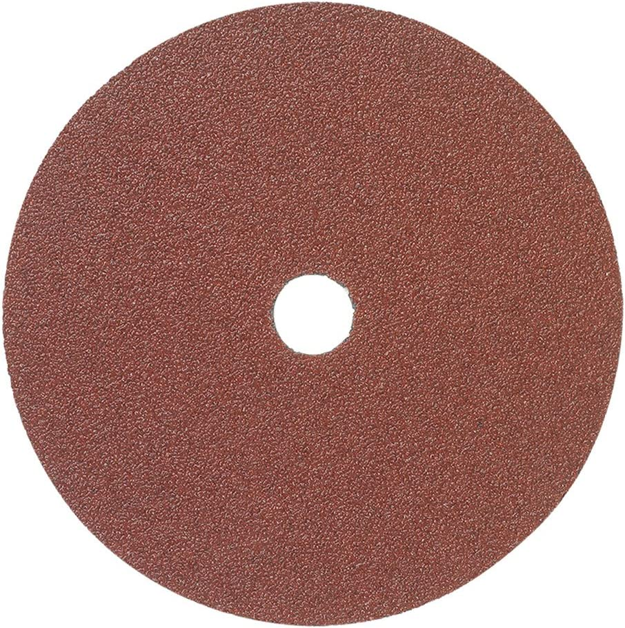 "Mercer Industries 304036 36 Grit Aluminum Oxide Resin Fiber Discs (25 Pack), 7 x 7/8"" 81ml%2B-T0fbL"