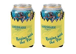Officially Licensed Landshark Lager Can Holder Neoprene Beer Huggie Cooler Sleeve (2)