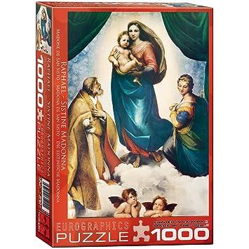 Eurographics - Rompecabezas Raphael, Tortugas Ninja, 1000 ...