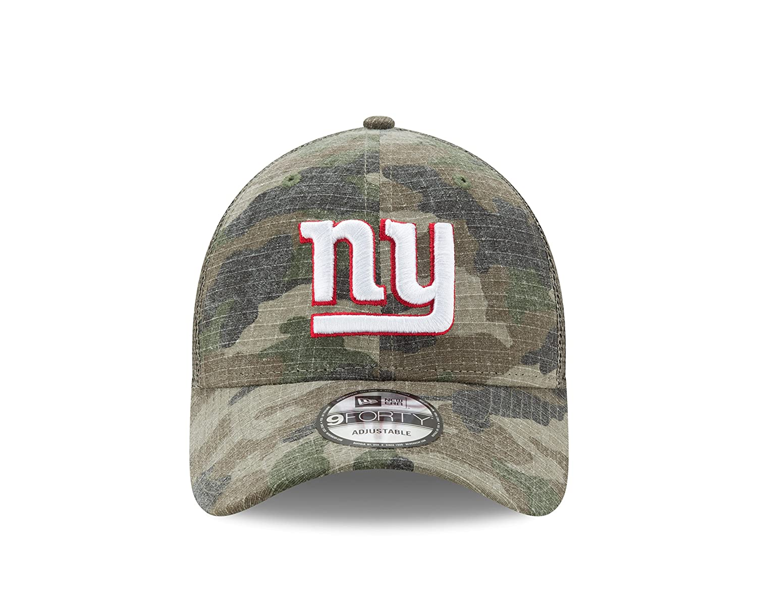 cd1ec6d8f56 Amazon.com   New York Giants New Era Trucker Dual Mesh 9Forty Adjustable hat  - Camo   Sports   Outdoors