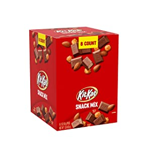 Kit Kat Snack Mix Tubes, 8 Count