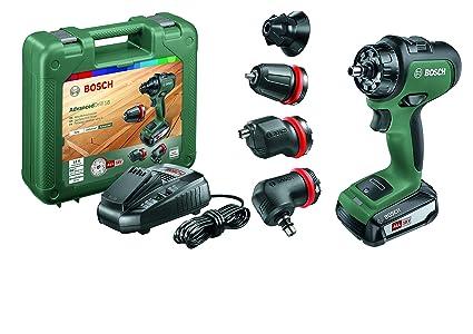 Bosch AdvancedDrill 18 - Kit de taladro/atornillador (con batería, sistema de 18 V, en estuche)