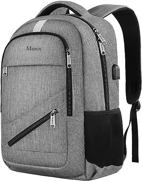 Students Men Female Notebook Bag Computer Bag USB Waterproof Backpack