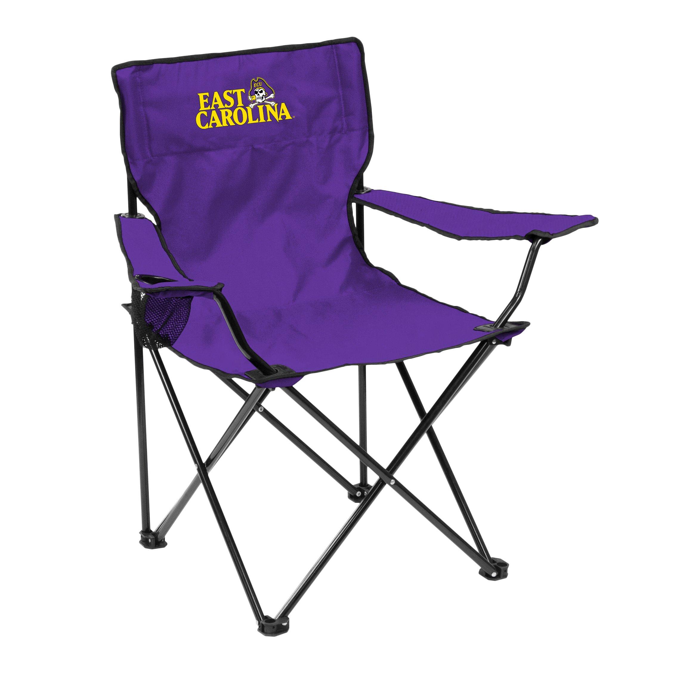 NCAA East Carolina Pirates Adult Quad Chair, Purple