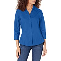 Riders by Lee Indigo Women's Bella Easy Care Woven Shirt - XX-Large - True Blue