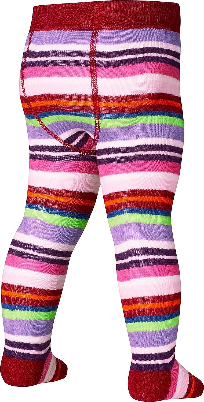 a459c53448 Playshoes Kinder-Strumpfhose für Jungen und Mädchen elastische Baumwoll- Strumpfhosen mit Komfortbund schadstoffgeprüft gestreift