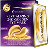 Under Eye Patches For Puffy Eyes 24k Gold Eye Mask For Dark Circles And Puffiness Collagen Eye Gel Pads Moisturizing & Reduci