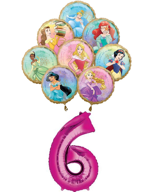 Amazon.com: Disney Princess - Ramo de globos de cumpleaños ...