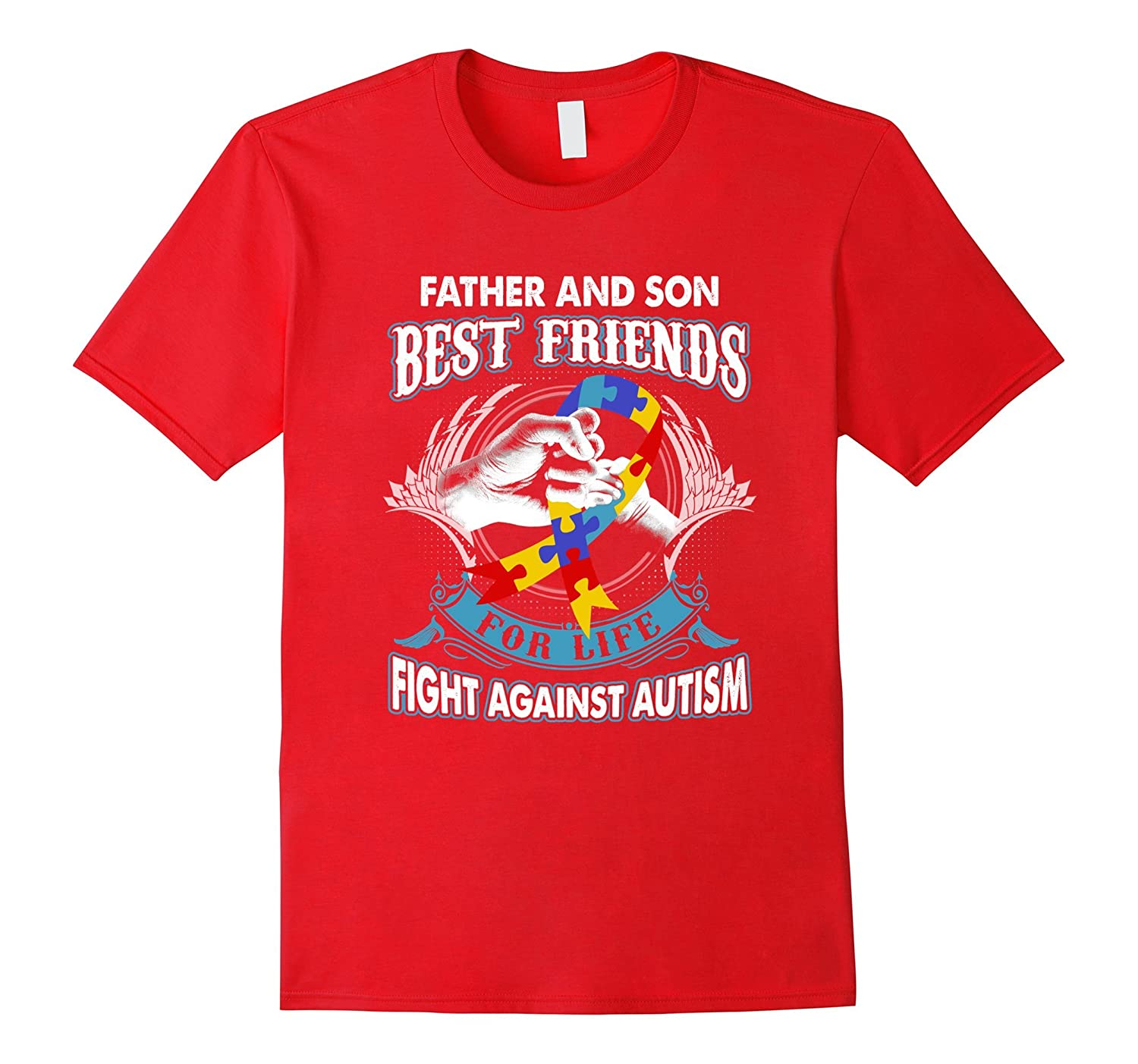 Father And Son Best Friends For Life Fight Against Autism-TH