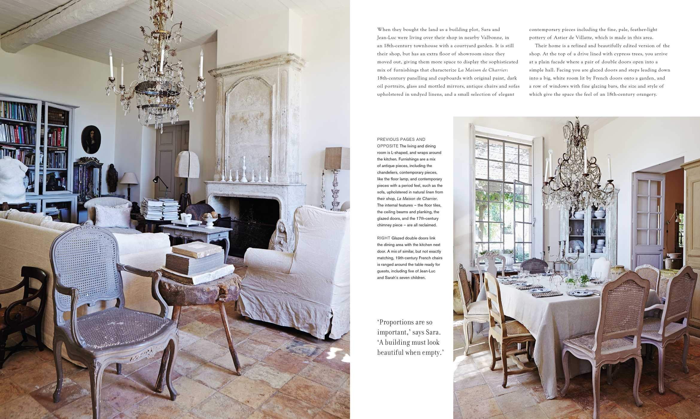 Perfect French Country book excerpt. #perfectfrenchcountry #frenchcountrystyle #interiordesign #designbooks